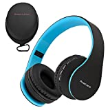 PowerLocus P1 Bluetooth Kopfhörer Kabellos, Wireless 5.0 Bluetooth Kopfhörer Over-Ear, Over Ear...