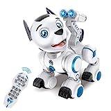fisca Fernbedienung Roboter Hund RC Interaktiv Intelligente Walking Tanzen Programmierbarer Roboter...