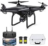 Potensic D58 Drohne mit 1080P Kamera für Erwachsene, 5G WiFi HD Live Video, GPS Auto Return, RC...