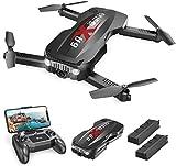 Holy Stone Faltbare Mini Drohne HS160P mit Kamera 1080P HD Live Übertragung für Kinder,FPV RC...