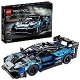 LEGO 42123 Technic McLaren Senna GTR Rennauto, Fahrzeug Bausatz, Modellauto, Geschenk für Kinder ab...