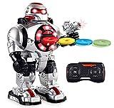 Think Gizmos Sprachgesteuerter RoboShooter Ferngesteuerter Roboter Kinder Spielzeug für Jungen und...