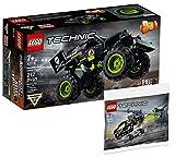 Collectix Lego Set - Lego Technic Monstertruck Monster Jam Grave Digger 42118 + Lego Technic...
