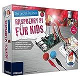 FRANZIS Die große Baubox: Raspberry Pi für Kids | LED-Würfel, verrückte Farbenspiele, Discolicht...