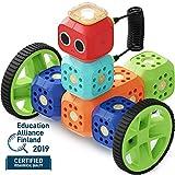 Robo Wunderkind Roboter Baukasten - Baue und Programmiere Roboter - Mint Spielzeug fr 5-10-jhrige Kinder - Kompatibel mit Lego - 2 gratis Apps mit Programmierideen und Tutorials