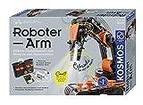 KOSMOS Roboter-Arm, Modellbausatz für deinen elektrischen Roboterarm, mit 5 Motoren und...