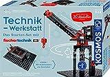 KOSMOS 628208 - Technik-Werkstatt, 20 Technik-Modelle mit fischertechnik, Erforsche die Welt der...