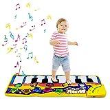 m zimoon Piano Matte, Musikmatte Kinder Tier Klavierspielmatte Musikalische Teppichmatte Geburtstag...