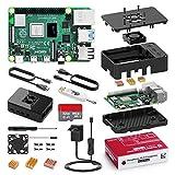 Bqeel Raspberry Pi 4 Model B 4GB mit 32GB Micro SD-Karte, Raspberry Pi 4 Kit mit Quad-Core A72...