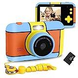 XDDIAS Kinderkamera, Wiederaufladbar Kamera für Kinder DigitalKamera mit 32GB SD Karte und 2,4''...