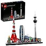 LEGO 21051 Architecture Tokio Skyline-Kollektion, Bausteine, Basteln für Kinder und Erwachsene,...