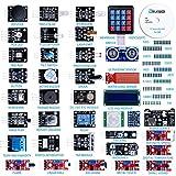 ELEGOO Aufgerüsteter 37 in 1 Sensormodul Bausatz Kompatibel mit Arduino IDE mit Anleitung für...