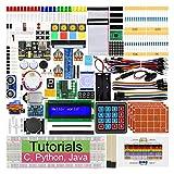 FREENOVE Ultimate Starter Kit für Raspberry Pi 4 B 3 B+ 400, 434-Seitige Detaillierte Tutorials,...