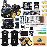 ELEGOO Smart Robot Car Kit V4.0 Kompatibel mit Arduino IDE Elektronik Baukasten mit Kamera, UNO R3 ,...