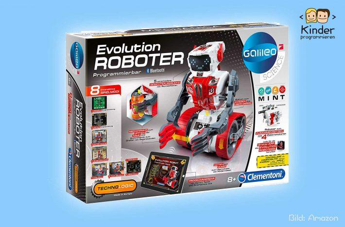 Unser Erfahrungsbericht zum Clementoni 59031.5-Evolution Roboter