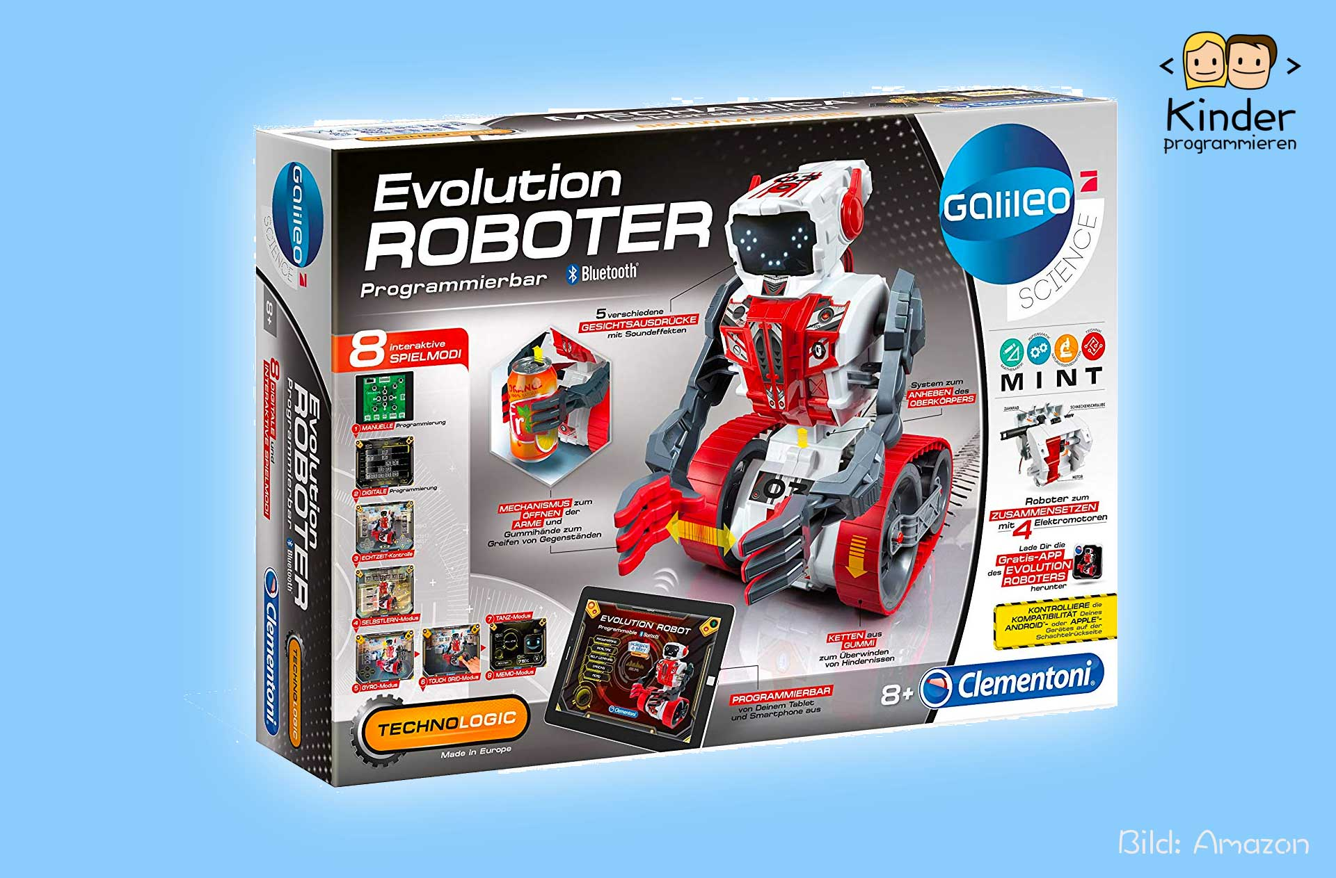 Mein erster Roboter DOC Galileo Science Clementoni