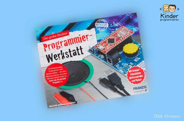 FRANZIS Programmier-Werkstatt: Die Baubox im Test