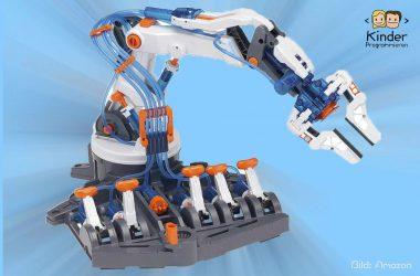 Kosmos Roboter Control: Programmierbarer Roboter-Arm für Kinder