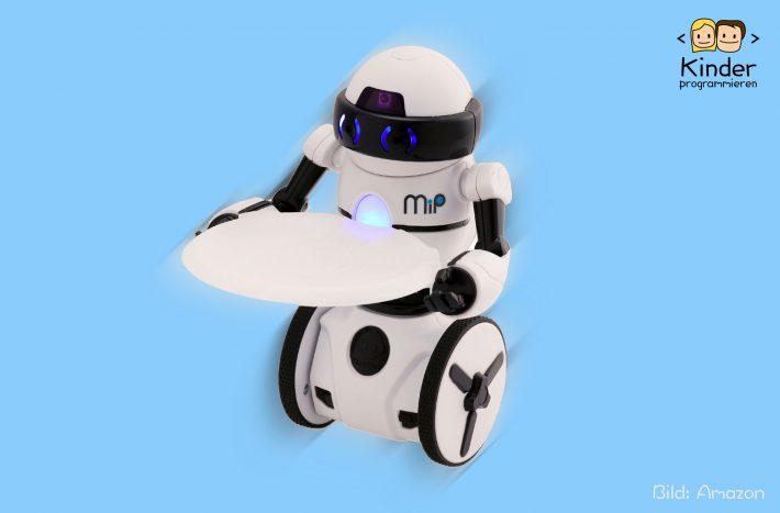 WowWee MIP: Balancier-Roboter zum Selber bauen im Test