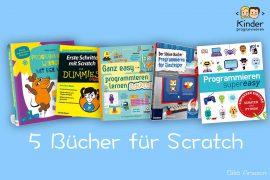 5 Scratch Bücher für Kinder